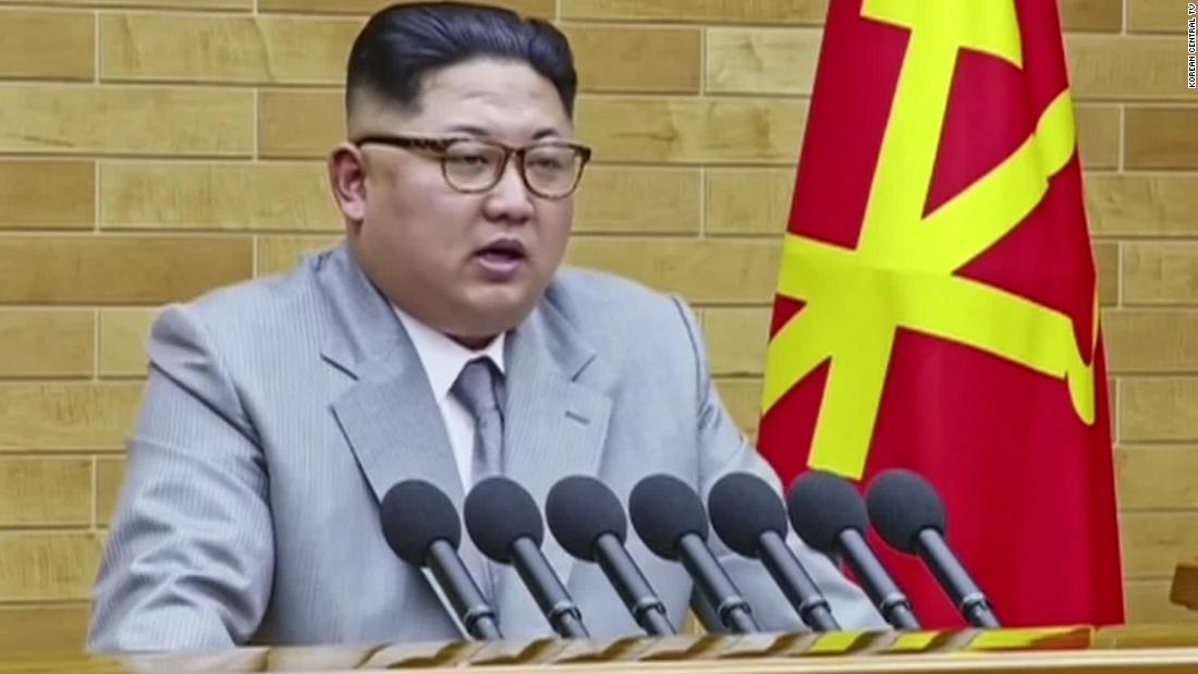 Kim Jong Un offers rare olive branch to South Korea