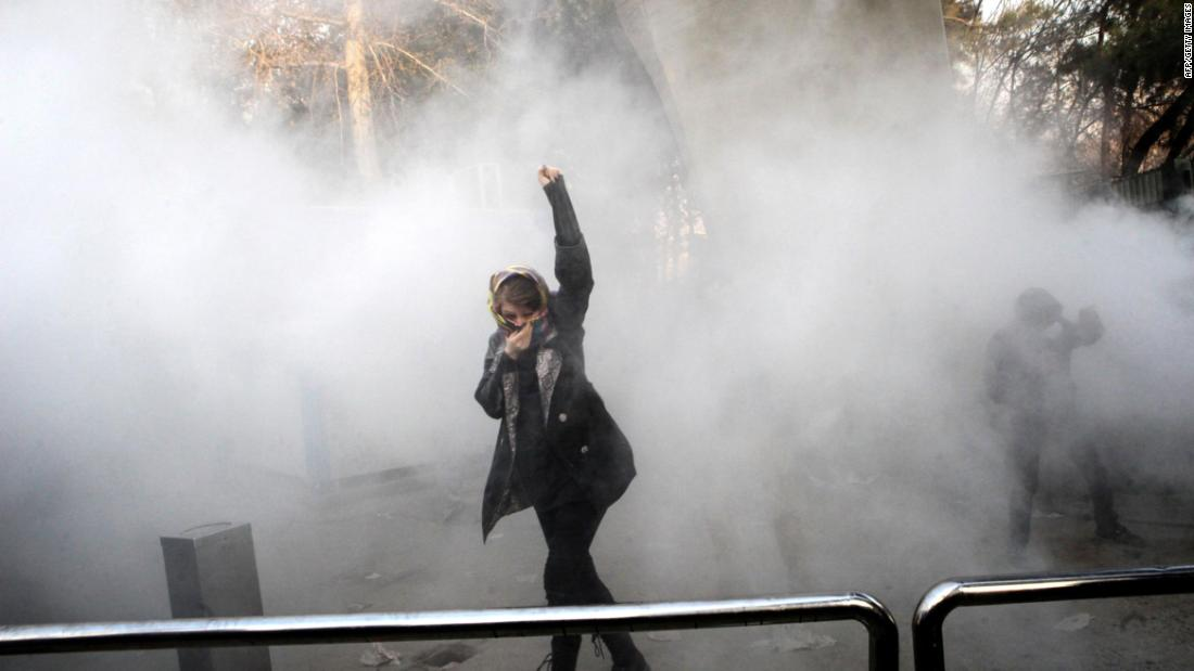 Protests turn violent in Iran - CNN Video