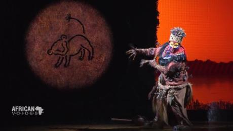 African Voices behind the curtain at broadway's the lion king C_00002909