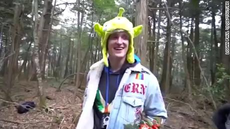 YouTube star Logan Paul was widely criticized for a video featuring a man hanging from a tree in Japan.