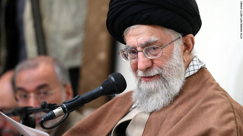 Khamenei delivered a statement in Tehran on Tuesday.