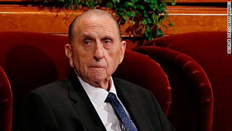 Thomas Monson served as the 16th president of the Church of Jesus Christ of Latter-Day Saints.