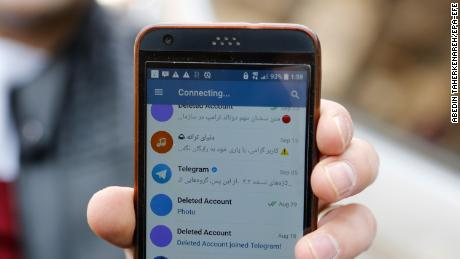 Iran threatens to shut down Telegram social media app