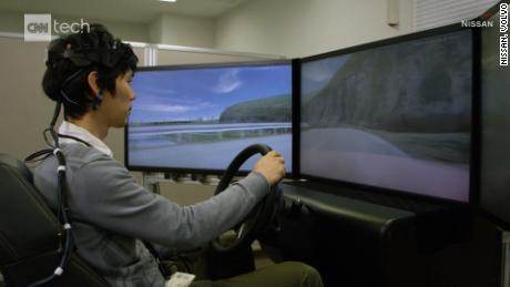 CLEAN Nissan's researching Brain-to-Vehicle tech that would use a driver's brain waves to help control the vehicle.