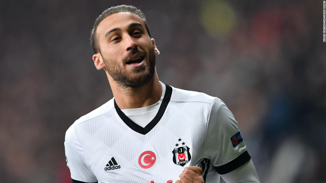 "Besiktas' forward Cenk Tosun is set to join Everton for a reported £27 million fee, making him the most expensive player in Turkish Super Lig history. ""It is just personal terms now, the final stage,"" said manager Sam Allardyce on Thursday."