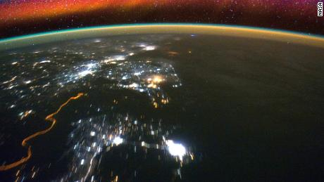 The lowest reaches of space glow with bright bands of color called airglow. NASA's new GOLD mission will research this region.