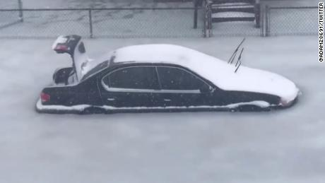 Frozen cars flood Revere Massachusetts cnni_00000000