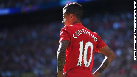 Coutinho isn't eligible to play for Barcelona in the Champions League this season.