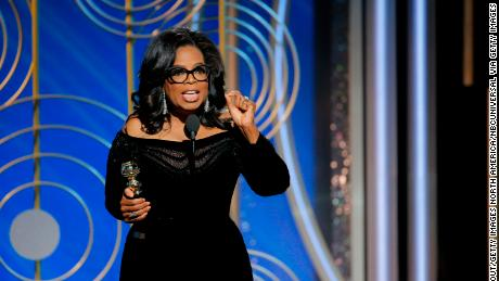 Thank goodness for Oprah Winfrey. She saved the show.