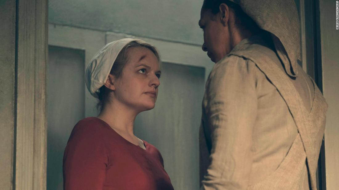 "<strong>Best television series -- drama:</strong> ""The Handmaid's Tale"""