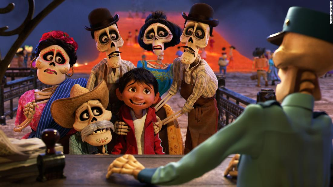 "<strong>Best animated feature film:</strong> ""Coco"""