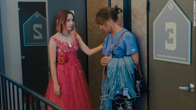 "<strong>Best motion picture -- musical or comedy:</strong> ""Lady Bird"""