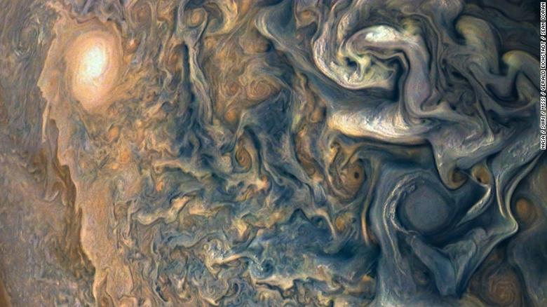 NASA's Juno Spacecraft Sent Back Some Spectacular Shots Of Jupiter