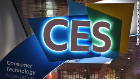 An illuminated CES sign is seen inside of the Las Vegas Convention Center ahead of the opening of the 2018 Consumer Electronics Show in Las Vegas on January 6, 2018. The 2018 CES runs from January 9-12. / AFP PHOTO / MANDEL NGAN        (Photo credit should read MANDEL NGAN/AFP/Getty Images)