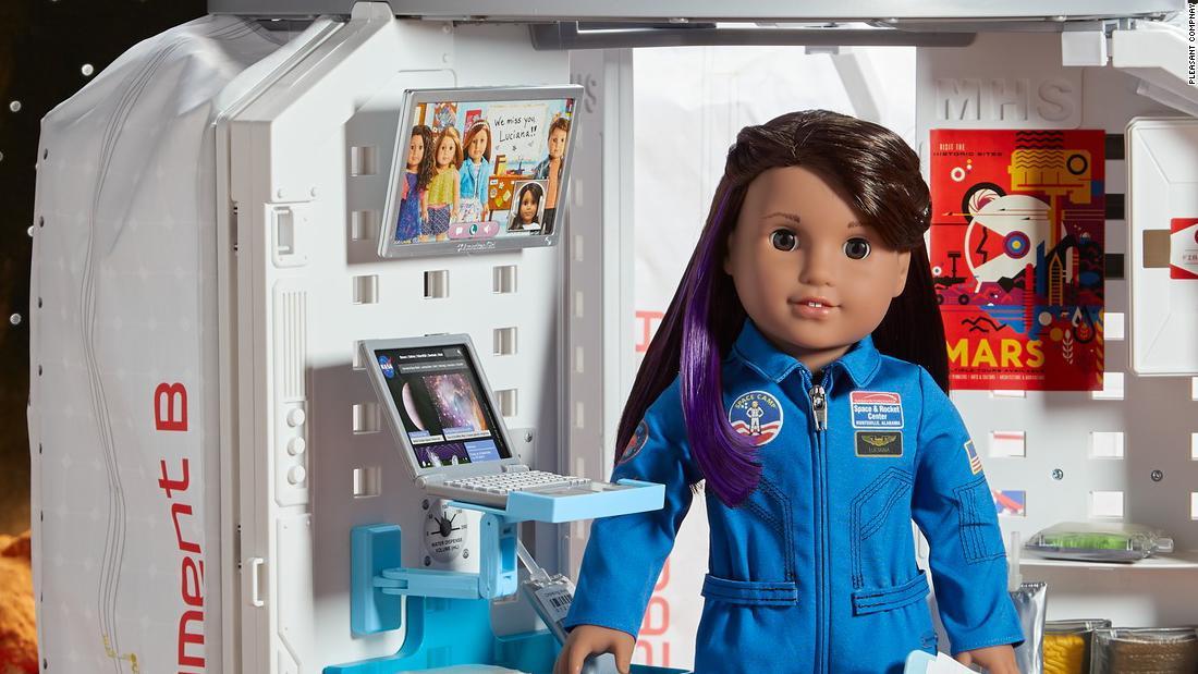 New American Girl doll is an aspiring Martian astronaut