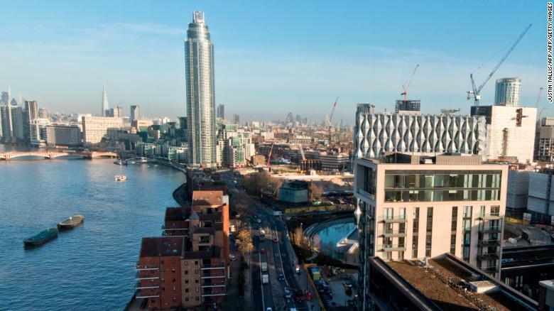 London's skyline has a new addition.