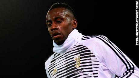 Juventus' French midfielder Blaise Matuidi warms up prior to the Italian Serie A football match between Cagliari Calcio and Juventus at the Sardegna Arena stadium in Cagliari, on the Mediterranean island of Sardinia, on January 6, 2018. Matuidi has hit out after he suffered racist abuse during the Serie A game on January 6 against Cagliari in Sardinia and was ignored when he asked the referee to intervene. / AFP PHOTO / MIGUEL MEDINA        (Photo credit should read MIGUEL MEDINA/AFP/Getty Images)