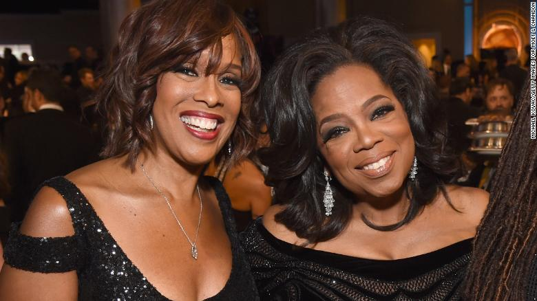 Gayle King just dumped fuel all over the Oprah 2020 fire