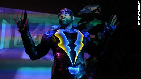 Cress Williams in 'Black Lightning'