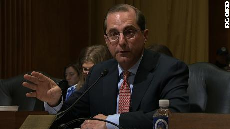 Senators grill Trump's Health and Human Services pick on drug prices, Medicaid