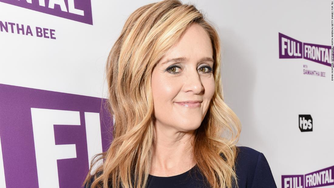 Samantha Bee is apologizing to the world for Trump