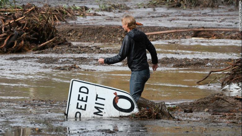 Deadly mudslides in Southern California / CNN