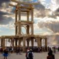 Burning Man temple of forgiveness