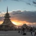 Burning Man temple of juno