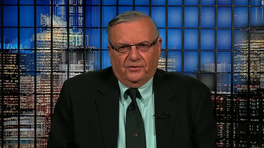 Joe Arpaio: Obama's birth certificate is a 'phony document'