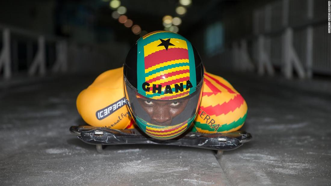 From a one-room home in Ghana to the Winter Olympics