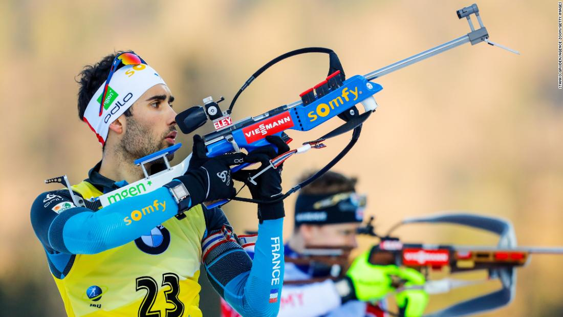 <strong>Martin Fourcade (France):</strong> Since 2012, Fourcade has been the world's best in the biathlon -- a discipline that combines cross-country skiing and rifle shooting. He won two golds and a silver at the 2014 Olympic Games. Along with a silver in 2010, that made him France's most decorated Winter Olympian.