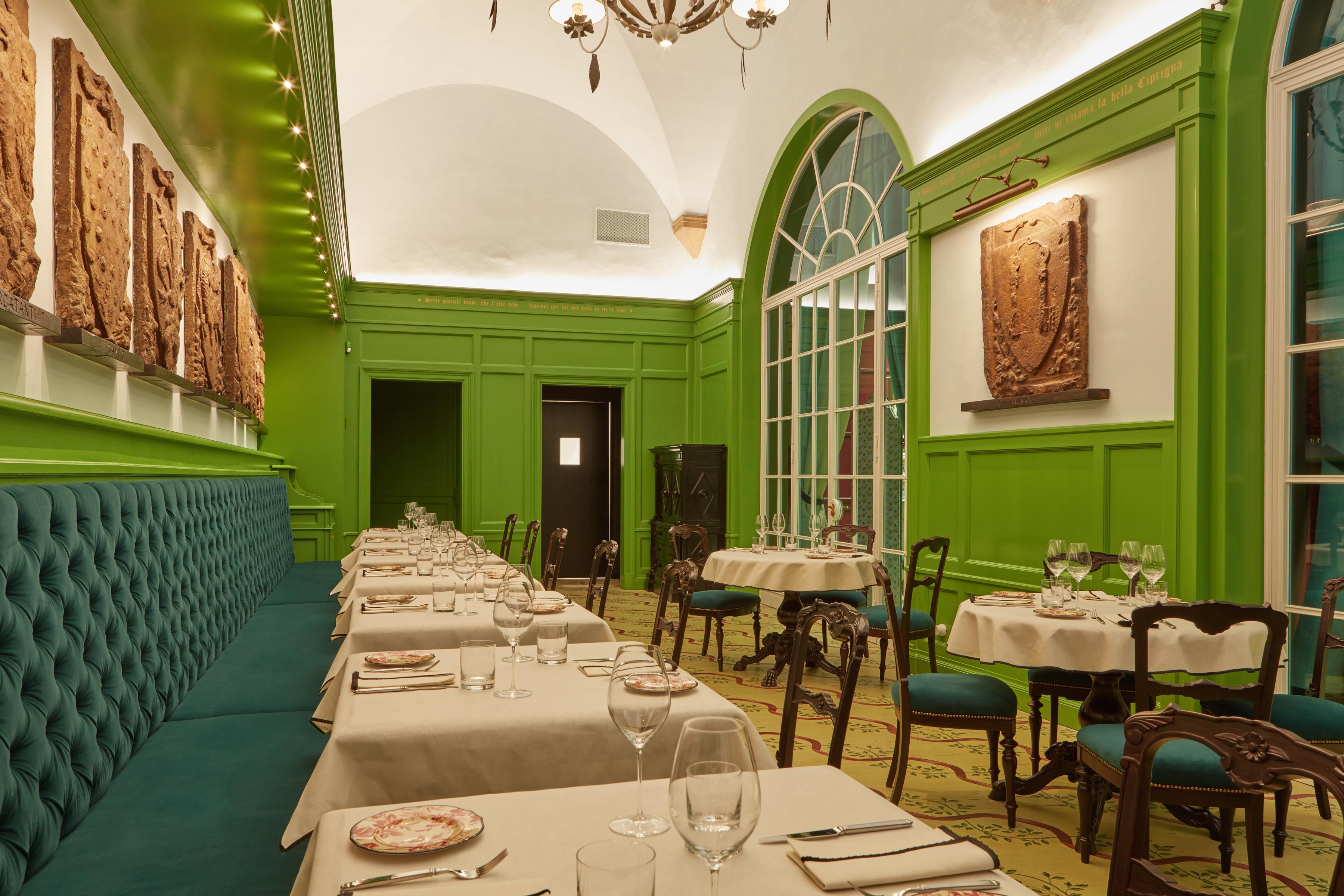 Inside Gucci S First Restaurant Cnn Travel