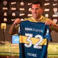 tevez returns to Boca