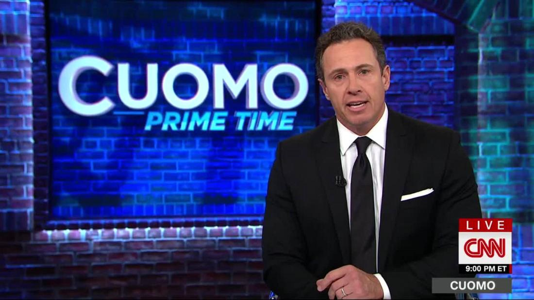 Chris Cuomo: 'We come from the shitholes'