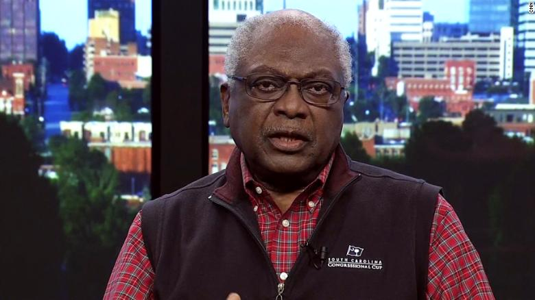 Clyburn: Trump has really stepped into it here