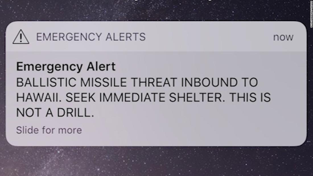 What went wrong with Hawaii's false emergency alert