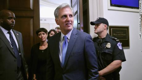 McCarthy breaks with Ryan: 'I believe this President will win re-election'