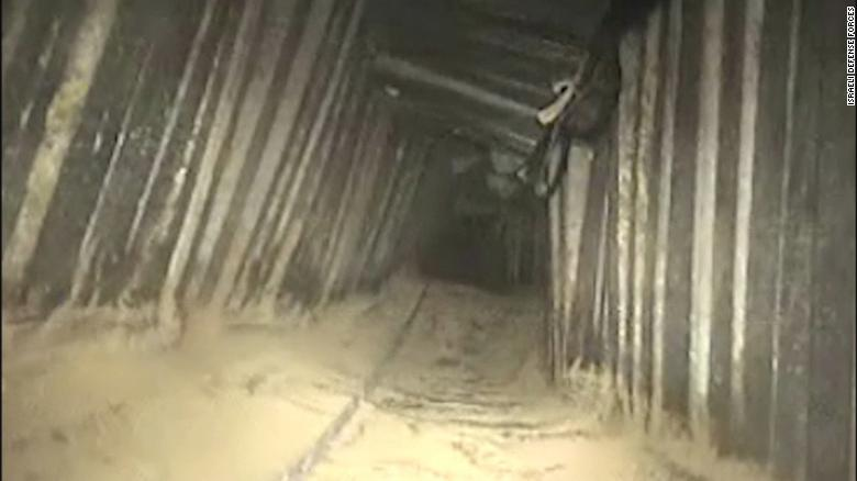 Israel says it destroyed Hamas tunnel
