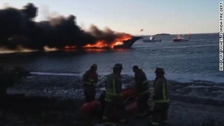 Casino shuttle boat fire NR