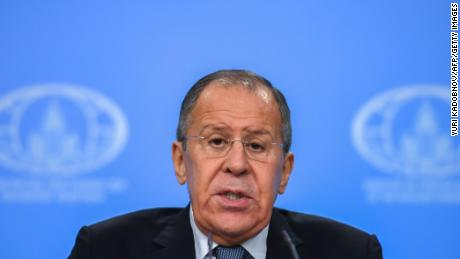 Russian foreign minister berates US for 'destabilizing' world