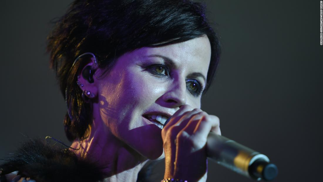 Dolores O'Riordan of The Cranberries dies at age 46