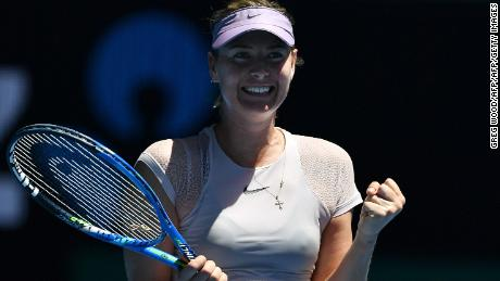 A five-time major winner, Sharapova is also a successful businesswoman.