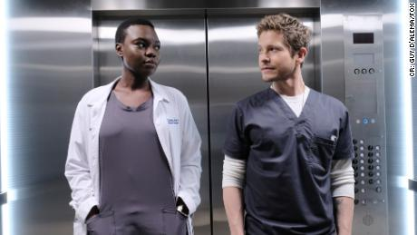 Shaunette Renee Wilson, Matt Czuchry in 'The Resident'