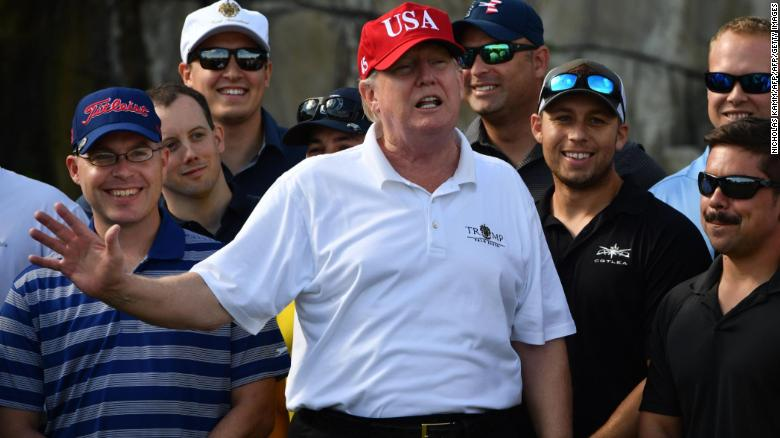 Exercise? I get more than people think, Trump says