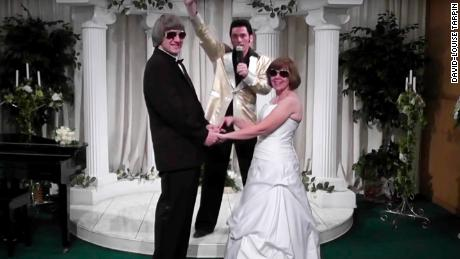 Turpin wedding video screengrab.