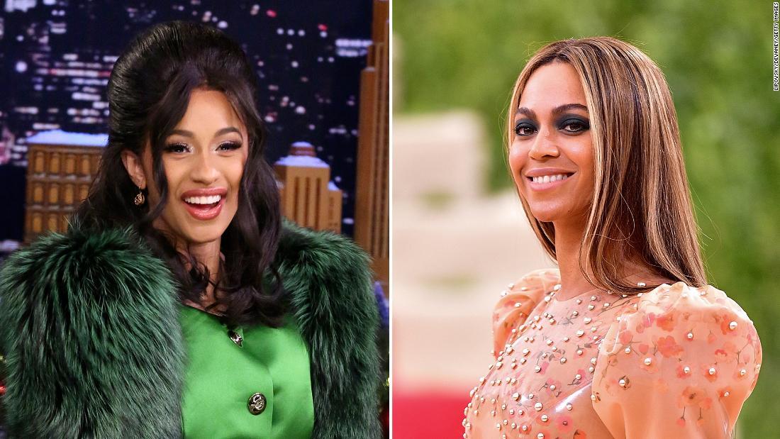 Cardi B surpasses Beyoncé on the charts