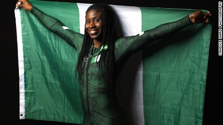 Simidele Adeagbo is blazing a few firsts as a Nigerian skeleton slider.