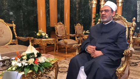 "Sheikh Ahmed El-Tayyeb, the grand imam of Al Azhar, says the US move on Jerusalem would ""feed terrorism."""