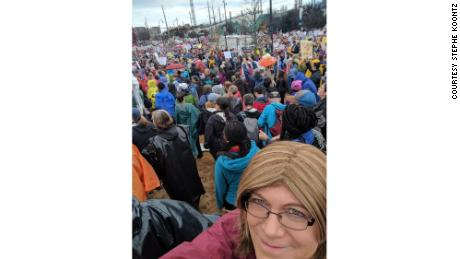 One year ago, she marched. This year, she's a councilwoman