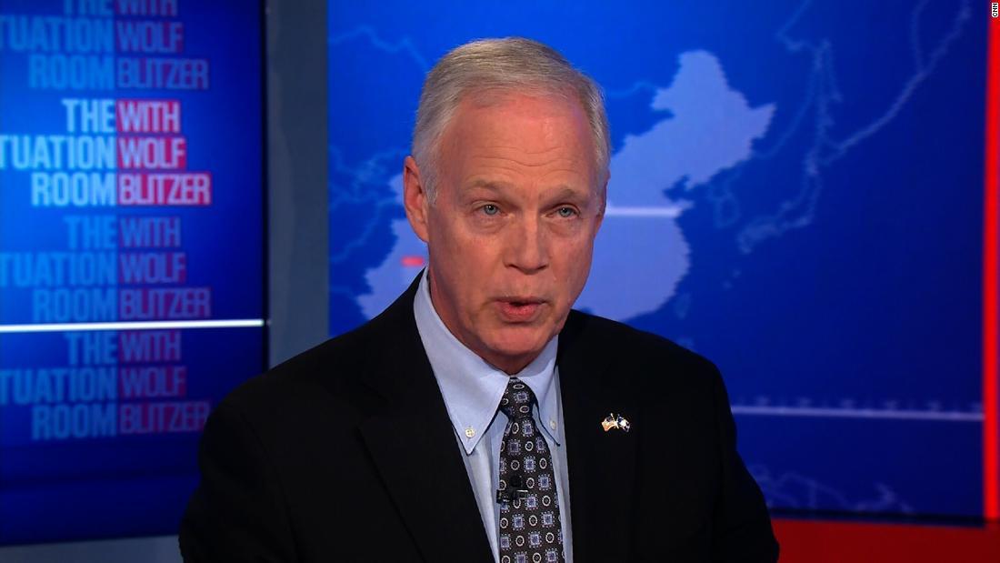Wolf Blitzer, senator spar over shutdown